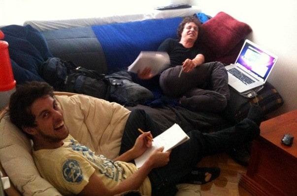Nathan and Xavier